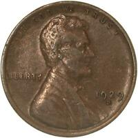 1929 D LINCOLN WHEAT CENT  FINE PENNY VF
