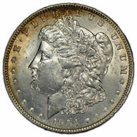 1904-O $1 MORGAN SILVER DOLLAR - ORIGINAL TONING - BETTER DATE - UNC - SKU-D1428