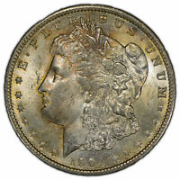 1904-O $1 MORGAN SILVER DOLLAR - ORIGINAL TONING - BETTER DATE - UNC - SKU-D1432