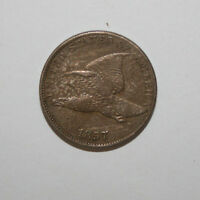 1857 FLYING EAGLE CENT   A25
