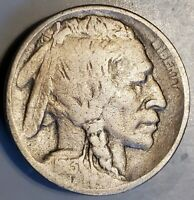 1913-P TYPE 2 BUFFALO NICKEL IN  GOOD CONDITION -