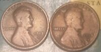 1912-D 1913-S LINCOLN CENTS//GOOD-VG//FAST SHIPPING