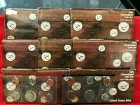 9 SET LOT OF 1985 P D MINT UNCIRCULATED SETS ORIGINAL