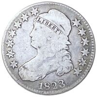 1823 CAPPED BUST HALF DOLLAR HARD TO FIND HIGH END 50C PHILA