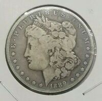 MORGAN SILVER DOLLAR CULL LOT 1878-1904 MIXED YEARS AND MINTS PRE 1921 G-VF