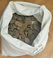 5000 BAGGED LINCOLN WHEAT CENTS     ALL WHEATIES