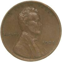 1935 LINCOLN WHEAT CENT EXTRA FINE PENNY EXTRA FINE
