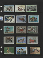 US MNH DUCK STAMP COLLECTION