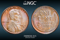 NGC MINT STATE 64 BN - 1931-S LINCOLN WHEAT CENT PENNY KEY DATE