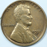 1931 S LINCOLN WHEAT CENT KEY DATE  CONDITION