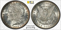 ONE 1893 MORGAN SILVER DOLLAR PCGS GRADED ALTERED SURF. UNC DETAILS 40727764