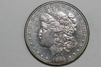 1893-P MORGAN 90 SILVER DOLLAR CLEANED -GRADES ABOUT UNCIRCULATED MDX4151