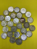 LOT OF 25 CANADA SILVER DIMES AS PICTURED