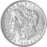 1892 MORGAN SILVER DOLLAR EXTRA FINE EXTRA FINE  CLEANED SEE PICS F621