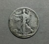 1921S WALKING LIBERTY HALF DOLLAR  SILVER ORIGINAL LOWER END COIN NO ISSUES