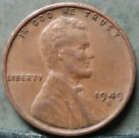 1949 S LINCOLN WHEAT CENT,  FREE & PROMPT SHIPPING