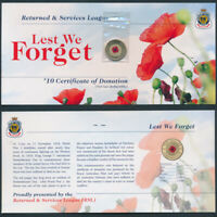 AUSTRALIA: 2012 $2 COLOURED RED POPPY COIN NO MINTMARK  WITH
