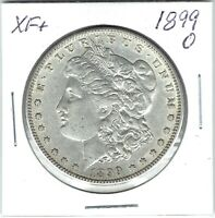 1899-O $1 MORGAN SILVER DOLLAR EXTRA FINE  GREAT FOR DATE SET