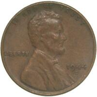 1944 D LINCOLN WHEAT CENT ABOUT UNCIRCULATED PENNY AU
