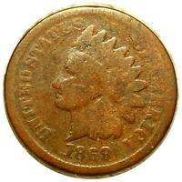 1869/69? INDIAN HEAD PENNY HIGH END 1C COPPER COLLECTIBLE MU