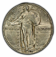 1930 25C STANDING LIBERTY QUARTER - STRONG ORIGINAL LUSTER - SKU-Z1027