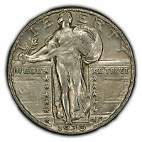 1930 25C STANDING LIBERTY QUARTER - STRONG LUSTER - SKU-Z1025