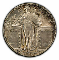 1930 25C STANDING LIBERTY QUARTER - ORIGINAL TONING - SKU-Z1029
