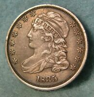 1835 CAPPED BUST SILVER DIME HIGH GRADE UNITED STATES TYPE C