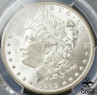 1902-O UNITED STATES SILVER MORGAN DOLLAR COIN PCGS MINT STATE 63 VAM 25 DOUBLED EAR