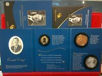 2016 RONALD REAGAN COIN AND CHRONICLES SET INCLUDES 2 COINS