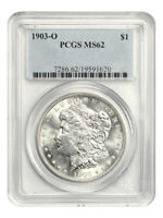 1903-O $1 PCGS MINT STATE 62 - LOW MINTAGE DATE - MORGAN SILVER DOLLAR - LOW MINTAGE DATE