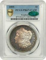 1895 $1 PCGS/CAC PR 67 CAM - MORGAN SILVER DOLLAR - KEY DATE PROOF-ONLY RARITY