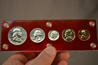 US SILVER COIN 90  PROOF SET 1955