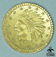 1875 UNITED STATES CALIFORNIA GOLD COIN INDIAN HEAD 16 STARS