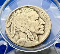 SCARCE 1914 D FINE DETAILS BUFFALO INDIAN NICKEL 5 CENTS NOT