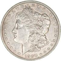 1900 MORGAN SILVER DOLLAR ABOUT UNCIRCULATED AU