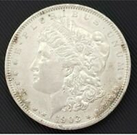 1903 P MORGAN SILVER DOLLAR.  HIGHER GRADE.  COIN