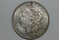 1921 MORGAN 90 SILVER DOLLAR GOLD TONED GRADE ABOUT UNCIRCULATED MDX4271