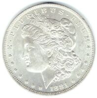 1881-O $1 MORGAN SILVER DOLLAR  LUSTRE FULLY STRUCK