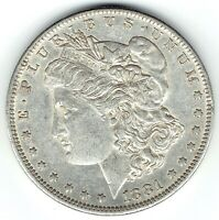 1881-O $1 MORGAN SILVER DOLLAR BETTER DATE  AU