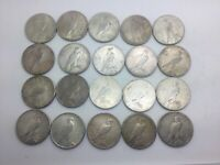 1922 1922D 1922S PEACE DOLLAR  LOT OF 20 COINS SOME NICER GOOD MIX FULL ROLL