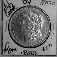 1895 O MORGAN SILVER DOLLAR HIGH GRADE US MINT COIN  KEY DATE ESTATE 123268