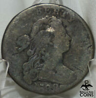 1798 UNITED STATES DRAPED BUST LARGE CENT COIN HAIR STYLE TY