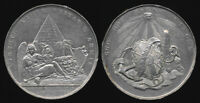 1798 ADMIRAL NELSON WHITE METAL MEDAL  VICTORY AT THE NILE