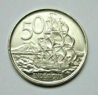 NEW ZEALAND 2006 ENDEAVOUR 50 CENT COIN CIRCULATED