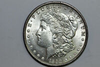 1890-P MORGAN 90 SILVER DOLLAR SCRATCHED OBV GRADE ABOUT UNCIRCULATED MDX4314