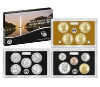 2015-S  US MINT 14 COIN SILVER PROOF SET  WITH PARKS & PRESIDENTS  OGP