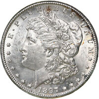 1897 S MORGAN SILVER DOLLAR UNCIRCULATED US MINT COIN