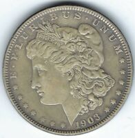 1903-P $1 MORGAN SILVER DOLLAR, BETTER DATE, GREAT COIN FOR DATE SET