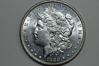 1880-P MORGAN 90 SILVER DOLLAR GRADES ABOUT UNCIRCULATED MDX4342